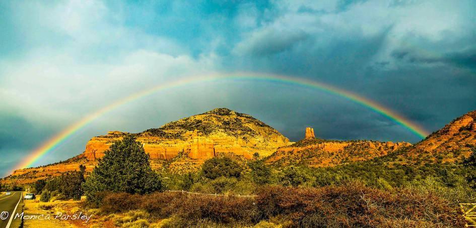 Sedona Rainbow small - Donate